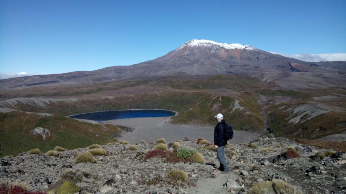 활화산의 통가리로 국립 공원 (Tongariro National Park)